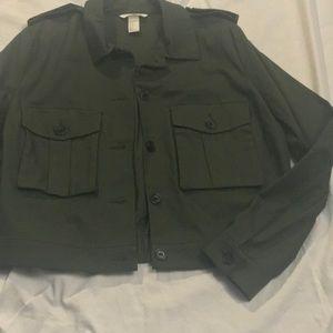 H&M cropped jacket, NWOT